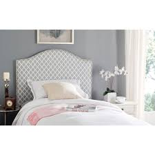safavieh connie grey and white twin headboard mcr4018g the home