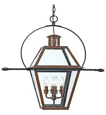 Outdoor Hanging Lights quoizel ro1914ac rue de royal aged copper outdoor hanging