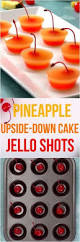make pineapple upside down cake pudding shots pudding shots