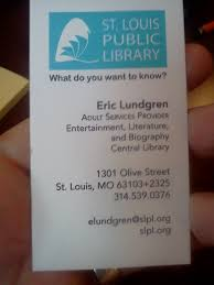 Business Cards St Louis I Spent Approximately Two Hours At A Romance Writers U0027 Convention