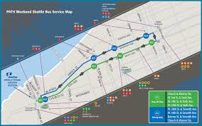Amtrak Stations Map by 5 Things To Know About Path U0027s 33rd Street Line Weekend Shutdown
