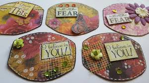 Upcycle Crafts - embellishments made from cereal boxes diy upcycle crafts youtube