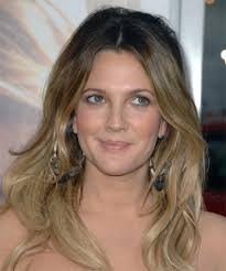 does hair look like ombre when highlights growing out drew barrymore long wavy casual hairstyle dark blonde ash