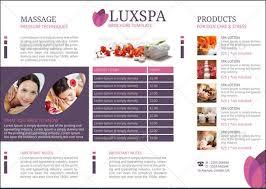 creative beauty spa brochure template mycreativeshopspa brochure