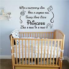 quote wall sticker kiss sleep tight little princess vinyl