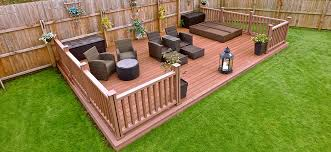 Garden Decking Ideas Uk Composite Deck Ideas For Your Garden Composite Wood Company