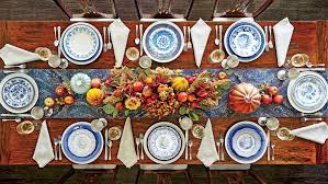 thanksgiving table the best thanksgiving setting for your table shape southern living