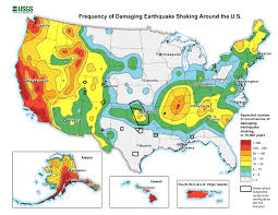 map in introduction to the national seismic hazard maps