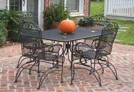 patio table with 4 chairs incredible wrought iron patio table and 4 chairs also inspirations