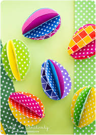 Easter Decorations Paper by Spring Forward With These 20 Diy Easter Decorations Paper Eggs