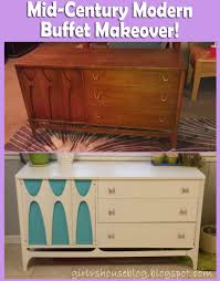Midcentury Modern Buffet - vs house mid century modern buffet makeover
