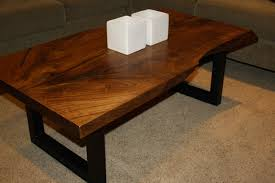 Living Edge Dining Table Coffee Table Wonderful Finished Wood Slabs Tree Slab Coffee