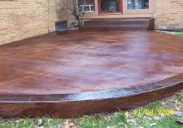 Stain Concrete Patio by Gallery Austin Stained Concrete And More