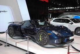 porsche car 2015 porsche highlights at the chicago auto show 2015 gtspirit