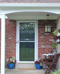 front door entryway curb appeal makeover making lemonade front door entryway makeover