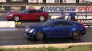 cadillac with corvette engine chevy corvette vs cadillac cts v coupe drag race