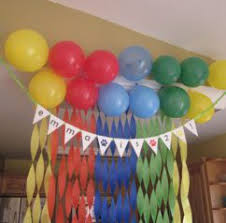 St Birthday Party Decoration Ideas India Ideasidea - Birthday decorations at home ideas