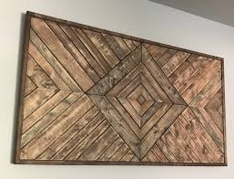 large wood wall hanging large geometric wood wall hanging