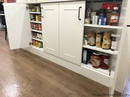 kitchen pantry organizers ikea create custom canned goods storage from ikea cabinets