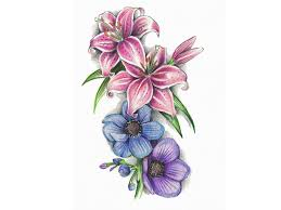 61 lily flowers tattoos collection