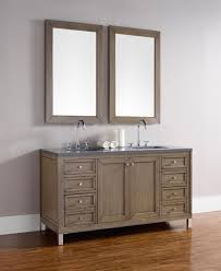 james martin chicago double 60 inch transitional bathroom vanity
