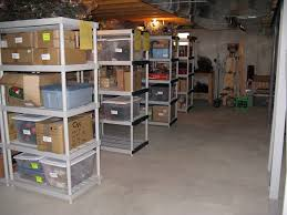 Rubbermaid Plastic Shelving by 8 Things To Do Right Away For An Organized Basement Rubbermaid