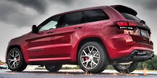 red jeep 2017 2017 jeep grand cherokee srt review