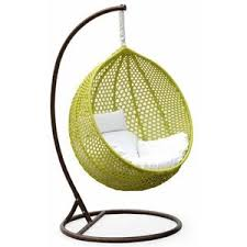 ravelo vibrant porch swing chair with hanging stand pe 03gn polyvore
