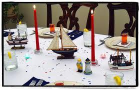 Nautical Table Decoration Ideas Ocean Themed Centerpieces Nautical Table Decorations Dinner