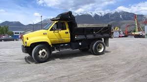 dump truck 1998 gmc c7500 cat 3126 turbo diesel 6 speed manual for
