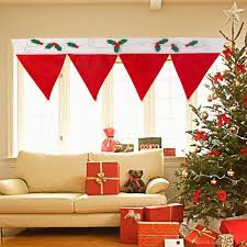 Christmas Kitchen Curtains by Christmas Christmas Curtains