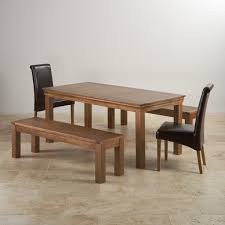 Dining Table And 2 Benches Falster Table 2 Chairs And Bench Outdoor Black Brown Mahogany