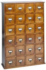 Leslie Dame Cd 456w Solid Oak Library File Media Cabinet Walnut Lde