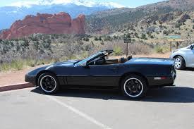 1989 corvette convertible 1989 chevy corvette convertible black on back c4 lots of upgrades