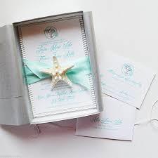 starfish wedding invitations wedding invitation wedding invitations in a box