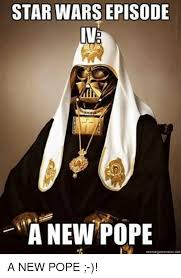 Star Wars Meme Generator - star wars episode anewpope meme generator net a new pope meme