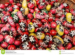 Easter Egg Decorating Ppt by Traditional Polish Easter Eggs Stock Photo Image 52407480