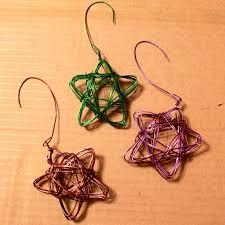 handmade wire ornament alyssa and carla