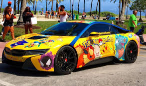 bmw i8 pokemon themed bmw i8 is your childhood dream
