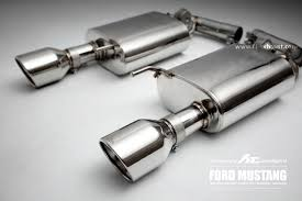 mustang titanium exhaust ford mustang valvetronic exhaust system fi exhaust