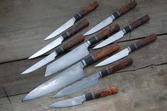 custom kitchen knives for sale beautiful custom made chef knives set of 6psc fb1617