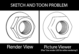 sketch and toon problem help needed new users u0026 beginners
