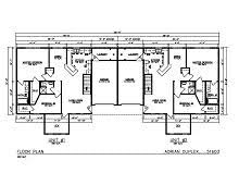 single story duplex floor plans interesting prefab duplex house plans photos best inspiration