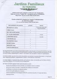 association bureau conseil d administration procès verbal de la réunion du nouveau conseil d administration du