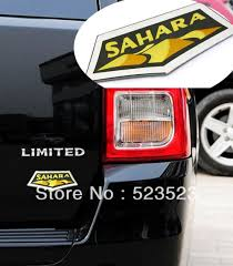 jeep cherokee decal free ship sahara badge decal emblem for jeep grand cherokee
