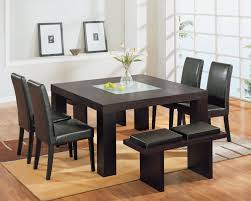 Bench Dining Set Decorium Furniture Chicago Contemporary Casual Dining Set By