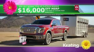 nissan titan xd platinum reserve for sale keating nissan mother u0027s day sale may 2017 youtube