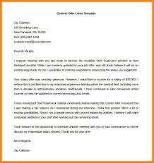counter offer letter cvletter csat co