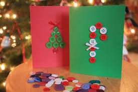 create a christmas card get crafty and create your own cards with buttons marin