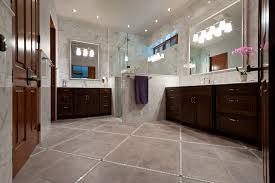 Marble Master Bathroom by Marble Archives Schroeder Carpet